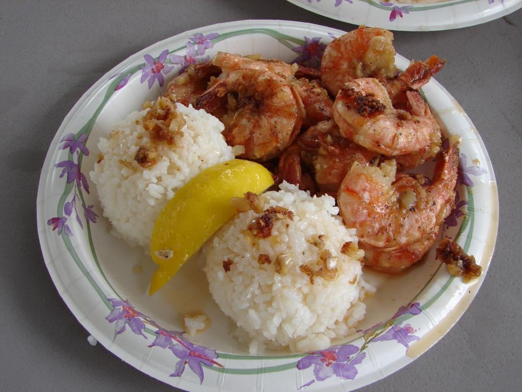 Garlic Shrimp from Giovanni's Shrimp Truck